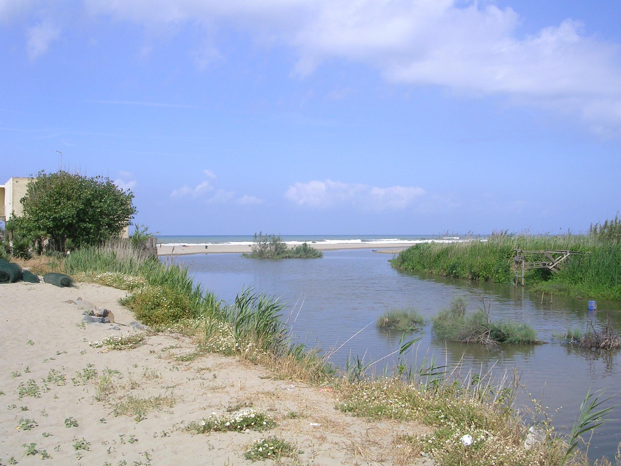 Foce del fiume Arrone (MG. Villani)